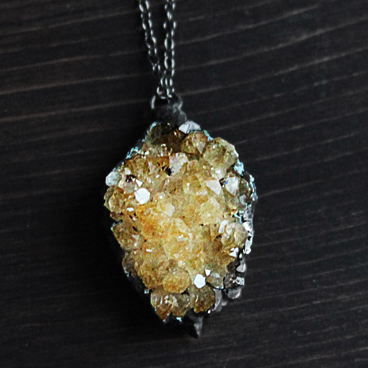 I might just splurge and buy a little gift for myself D: Citrine Geode Treasure 29% off now featured on Fab.Fab.com
