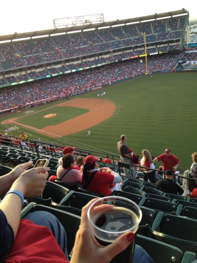 Spring has sprung and Baseball is in the air! Angels <3333