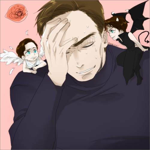 mohae-k:  angel charles, devil wesley…? lol