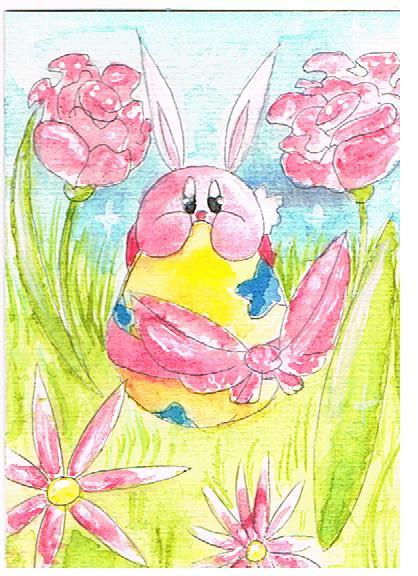 naaw happy easter (from kirby and me)! :)