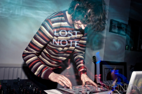 Alphabets Heaven // Lost Note // Video Podcast Lost Notes party last night for their video podcast. Alphabets Heaven on the decks.