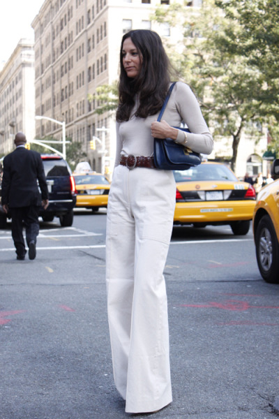 chic in white and a neutral.