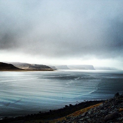 66north:  #patreksfjörður #iceland #66north (Taken with Instagram at Patreksfjörður)  to be honest 66north team, i really envious 'cause now i'm relaxing in europe and i missed the coolest music festival near to photo location. please, bear in mind that some couldn't attend and only getting angry for being far away from your instragram live photos ;-)