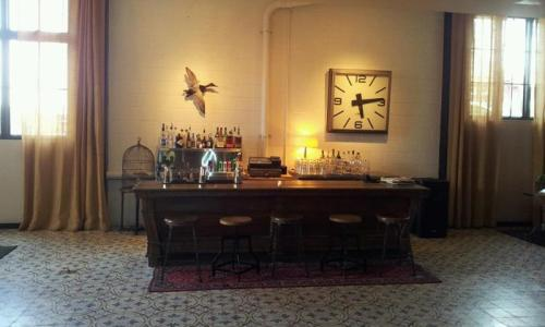 Palihouse Holloway bar, freshly set up for the night's festivities. I often see Avi Brosh, the founder, leader and creative force of Paligroup, here, looking debonair while making sure every detail is just so.  Here is a great profile on him from BlackBook Mag.