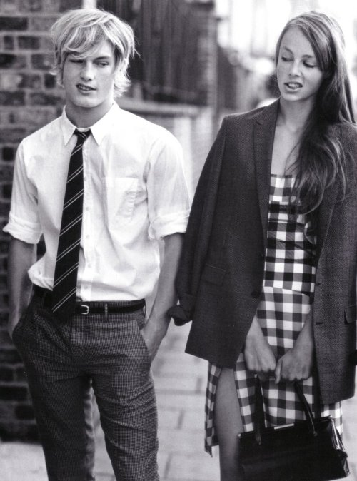 stannats:  Edie Campbell and Harry Goodwins photographed by Bruce Weber for Vogue Italia 2010