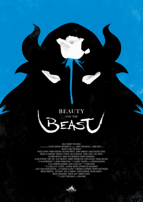 Beauty and the Beast by Dee Choi Tumblr, Twitter, Society6.