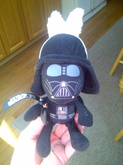 darth vader easter bunny! thanks mom :)