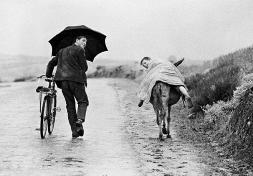 Thomas Hoepker Two boys in rural Portugal, 1964