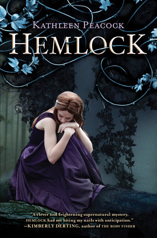 "Hemlock, Kathleen Peacock Release Date: May 8th, 2012 Genres: Young adult, romance, supernatural, werewolves, mystery ""Mackenzie and Amy were best friends. Until Amy was brutally murdered.  Since then, Mac's life has been turned upside down. She is being haunted by Amy in her dreams, and an extremist group called the Trackers has come to Mac's hometown of Hemlock to hunt down Amy's killer: A white werewolf. Lupine syndrome—also known as the werewolf virus—is on the rise across the country. Many of the infected try to hide their symptoms, but bloodlust is not easy to control. Wanting desperately to put an end to her nightmares, Mac decides to investigate Amy's murder herself. She discovers secrets lurking in the shadows of Hemlock, secrets about Amy's boyfriend, Jason, her good pal Kyle, and especially her late best friend. Mac is thrown into a maelstrom of violence and betrayal that puts her life at risk. Kathleen Peacock's thrilling novel is the first in the Hemlock trilogy, a spellbinding urban fantasy series filled with provocative questions about prejudice, trust, lies, and love."" Happy reading!"
