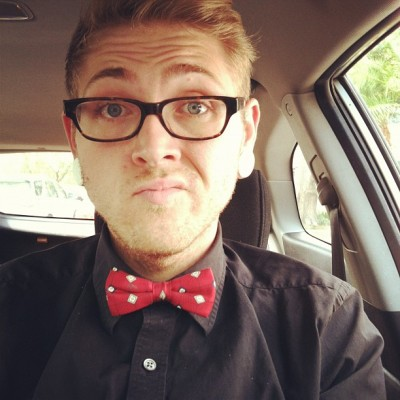 It was a bowtie kind of day!  (Taken with instagram)