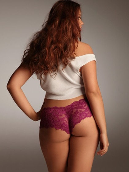 Lace Knickers via: Hips and Curves