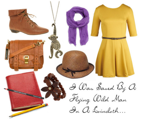fictionalfashionistas:  Disney Inspired - Tarzan - Jane Porter
