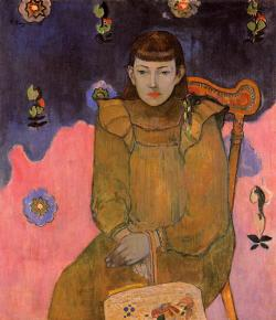 Paul Gauguin, Portrait of a Young Woman