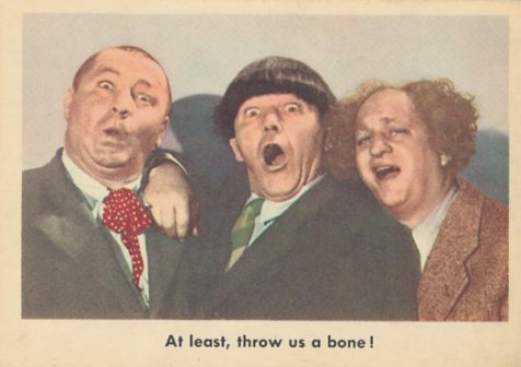 The Three Stooges Cards #88 (1959)