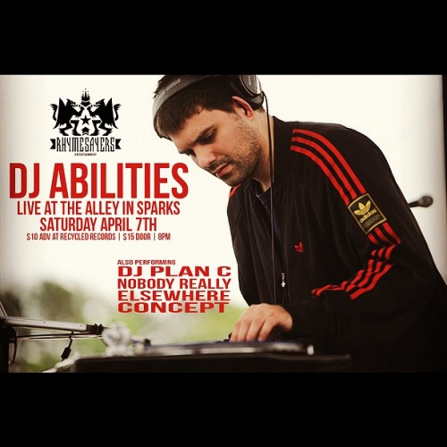 #djabilities #rhymesayers #hellyes (Taken with instagram)