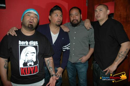 Herb Digs, Joey Guila, Kevin Camia and Rad Reyes.