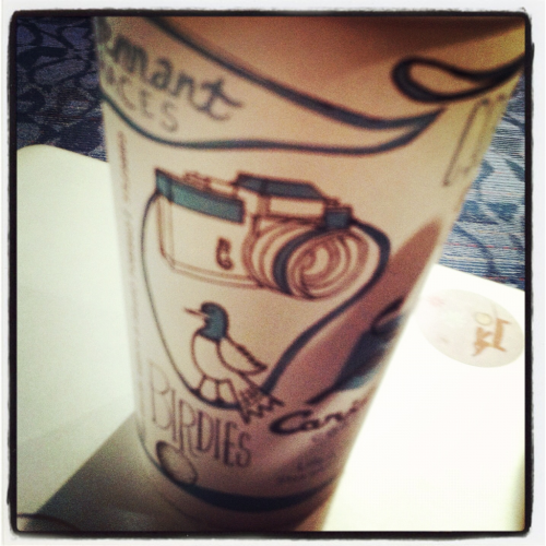 Caribou coffee—-> cool cup