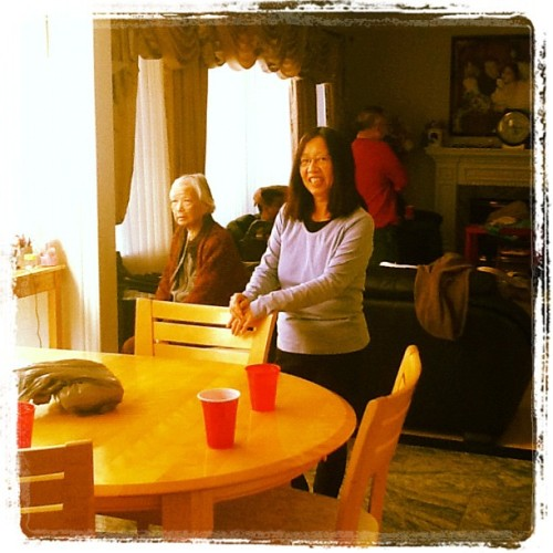 My mom and gran. (Taken with instagram)
