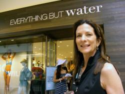 Everything But Water Party | Influenza OCMarch 10, 2012Everything But Water - Brea Mall To celebrate the Brea store opening, Everything But Water hosted an afternoon of tropical play with beautiful models and sounds provided by female dj. Customers had the opportunity to have their hair styled with fresh flowers, enjoy island-inspired drinks and create their own getaway souvenir – a custom-designed threaded bracelet. It was a pleasure to meet & greet the President & CEO of the brand, Sheila Arnold who was also in attendance. Thanks to Jennifer Searle, PR Consultant (Think PR) and Sheila Arnold President & CEO (Everything But Water).