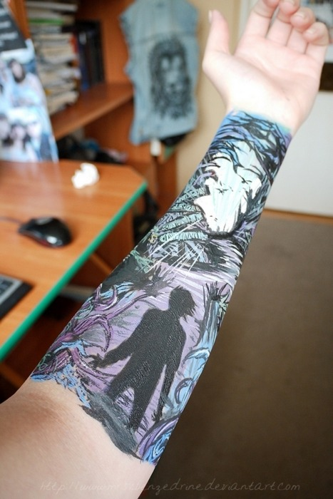 metaland-ink:  That's the single fucking sickest tattoo ever. No way.