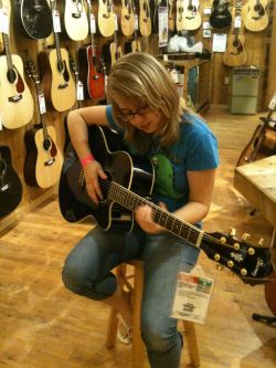 At The Guitar Center @ Castleton Mall.