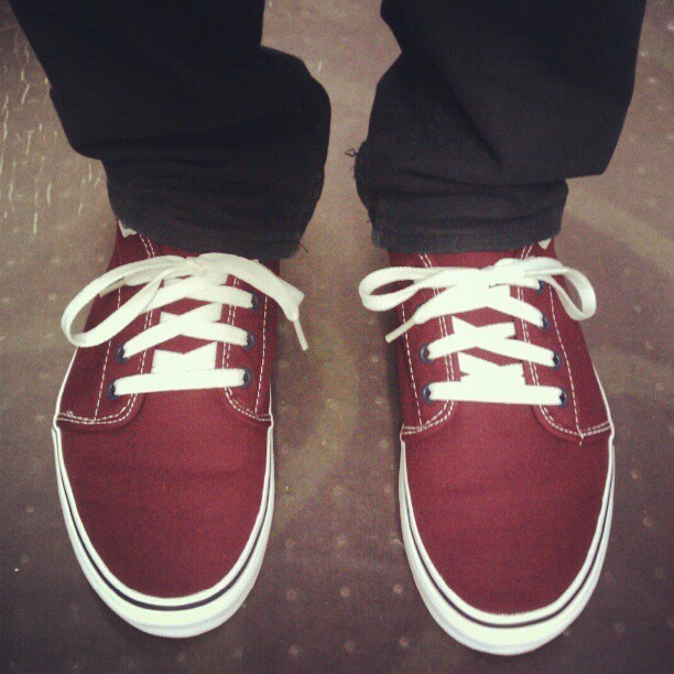 Brand new shoes for brand new adventures! (Taken with instagram)