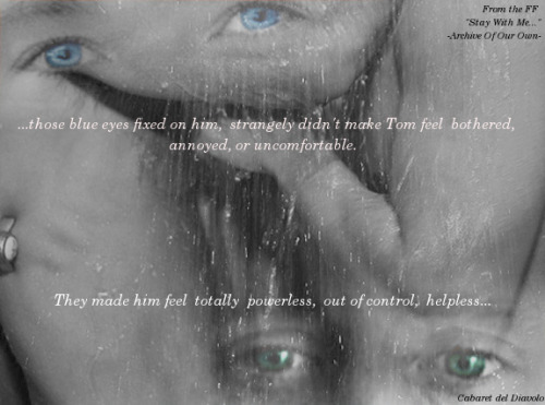 -Stay with me, Chapter 5- […] He would have stopped.For Tom he would have done it.Because Chris cherished Tom and wanted him more than anything else. […] Wanna read more? ;) Here's the Fanfiction! http://archiveofourown.org/works/342646?view_adult=true