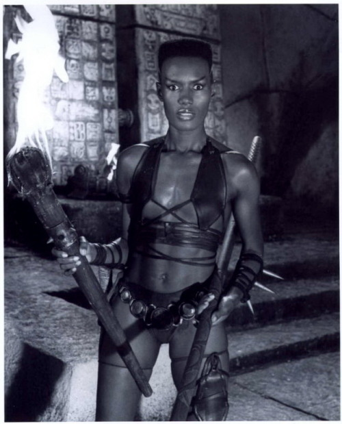 "Conan the Destroyer (1984) Grace Jones as ""Zula"""