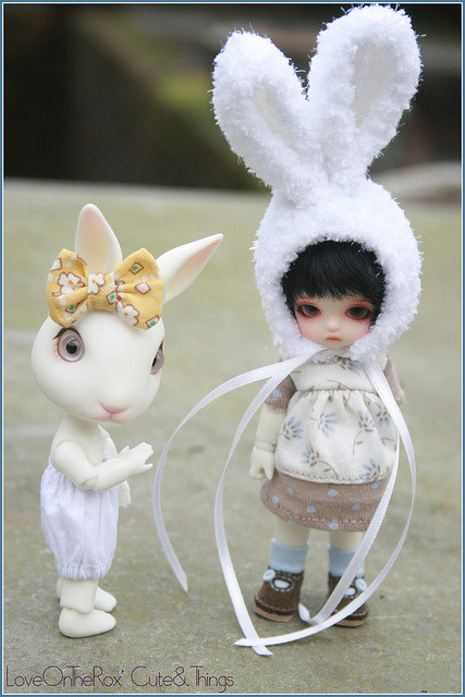 Jemima & Sno by LoveOnTheRox! on Flickr.