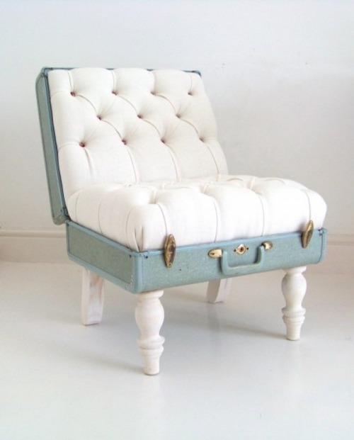 selinaalkan:  Suitcase Chair