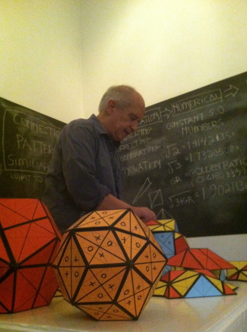 Tom Miller serenading us with the resonating significance of the structures we're building as our mobiles…