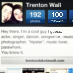 100 Followers on #INSTAGRAM Thank you guys so much!!! XD #Favorite #Pictures #Singer #Actor #Dancer #Songwriter  #Followers  (Taken with instagram)