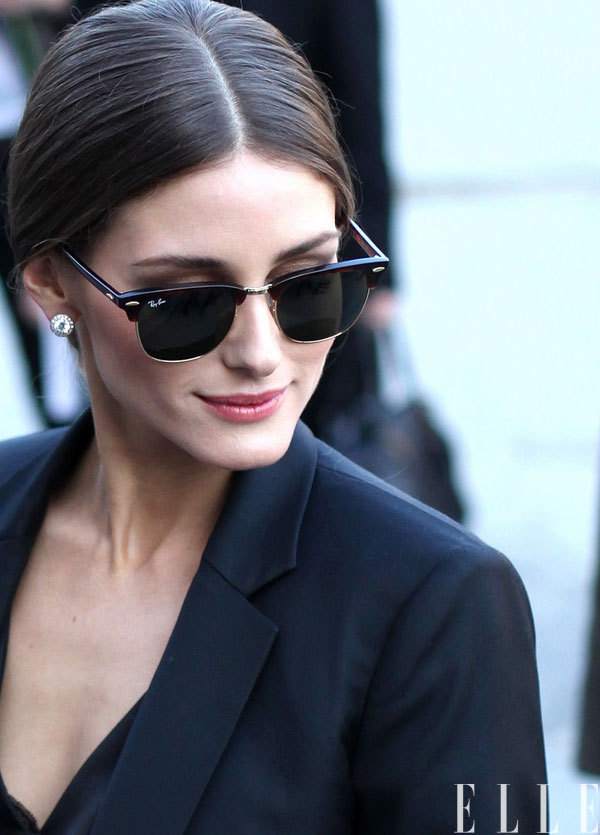 Olivia Palermo rockin the Ray Ban's oh so well.