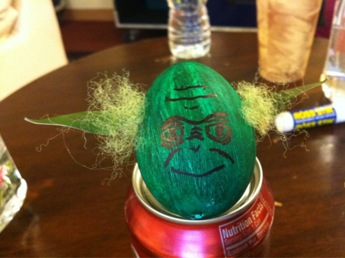 My Yoda Easter egg!