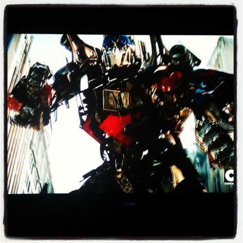 #transformers on #cartoon network (Taken with instagram)