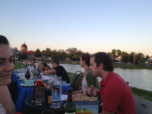 Im loath to admit it but this Seder on the bayou is pretty pretty good.
