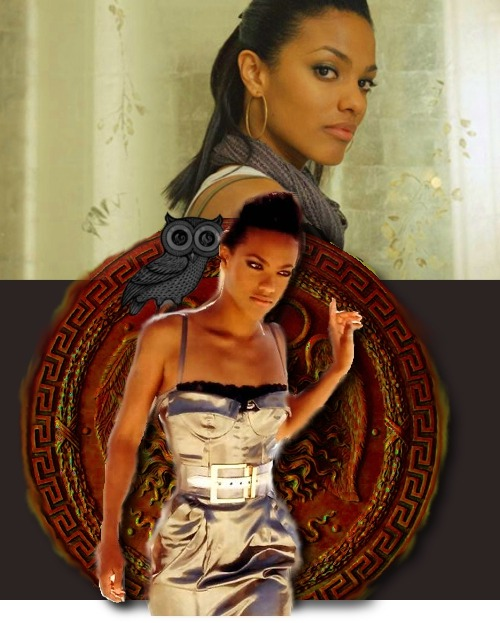 geekybitch:   Greek Gods Casting—> Freema Agyeman as Athena (Goddess of  wisdom, courage, inspiration, civilization, law and justice, just warfare, mathematics, strength, strategy, the arts, crafts, and skill)  I APPROVE.