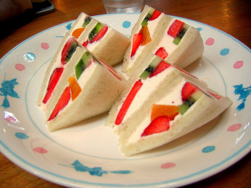 Fruit Sandwich @ Ghibli Museum Cafe by justindoub on Flickr.