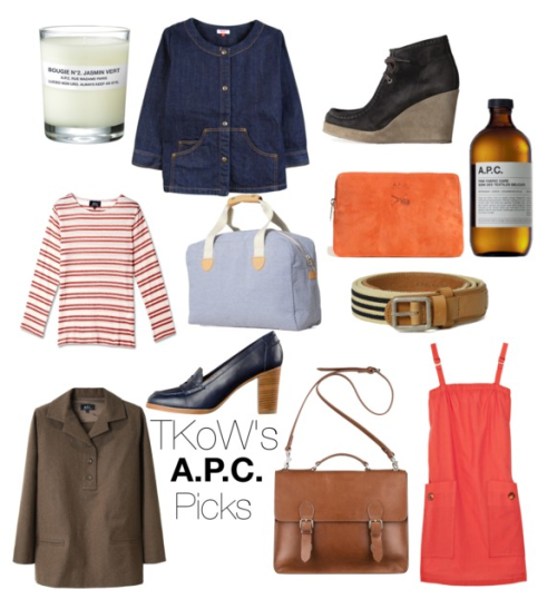 My picks from A.P.C. on  my polyvore.