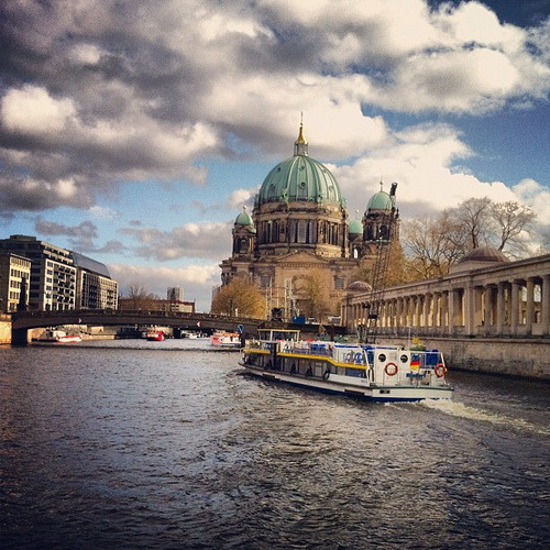Berliner Dom and Spree River