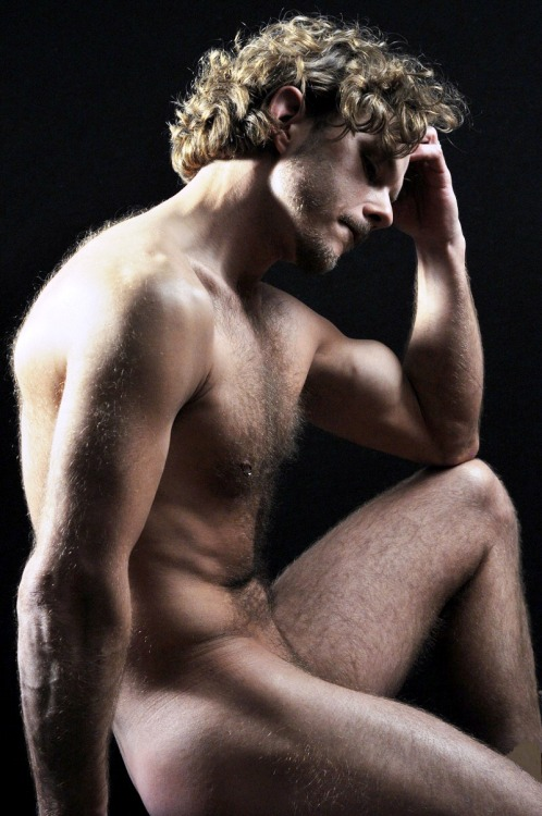 Blond and Hairy Hunk