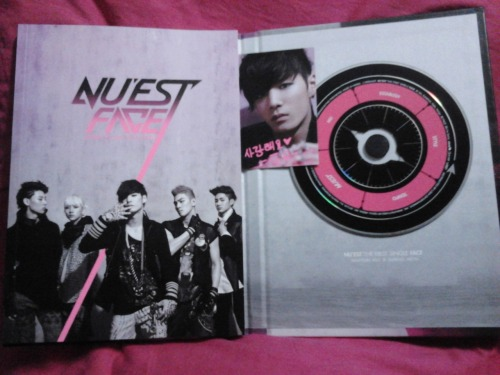 My Nu'est Album just arrived ^^