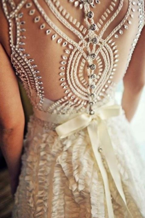 What a stunning gown!