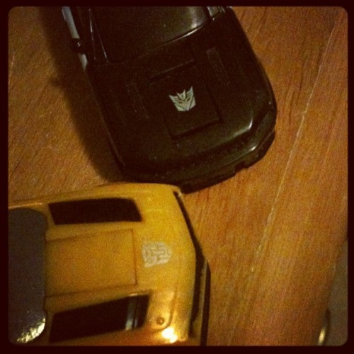 #bumblebee #transformers #autobots #decepticons  (Taken with instagram)