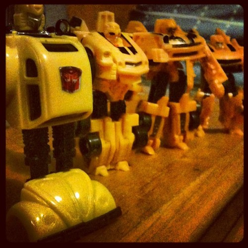 #bumblebee #transformers #autobots #toy  (Taken with instagram)