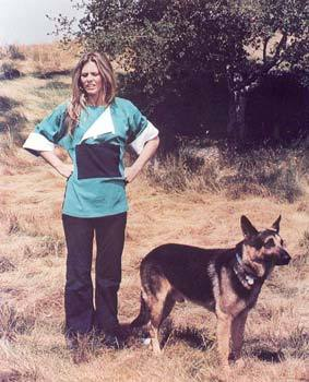 Jamie Sommers (The Bionic Woman) and Max (The Bionic Dog) …