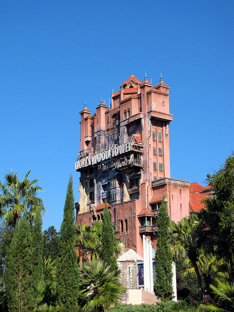 f1nding-w0nderland:  Tower of Terror by disneylori on Flickr.