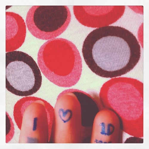 I  1D (Taken with instagram)