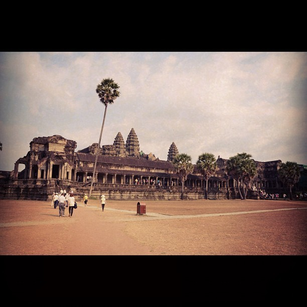 Go to the third gallery (#angkorwat, #cambodia) (Taken with instagram)