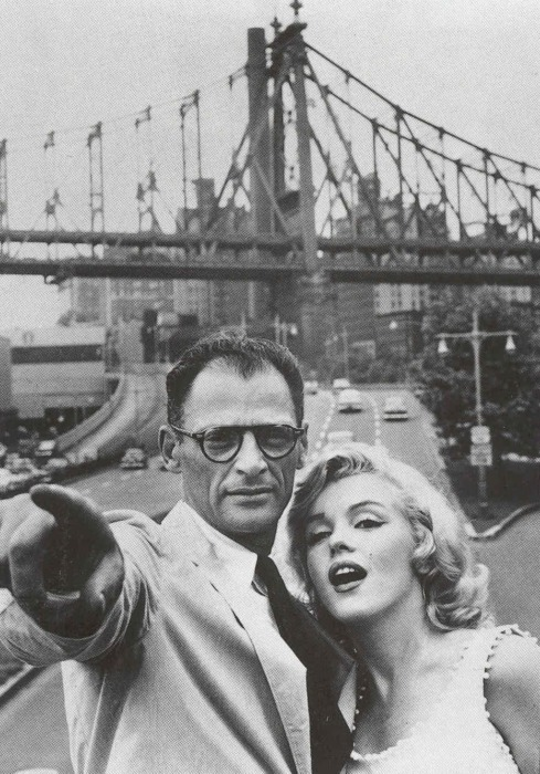 erikangstrom:  Arthur and Marilyn.